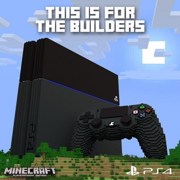 Minecraft Will be Released on PS Vita, PS 4, PS 3